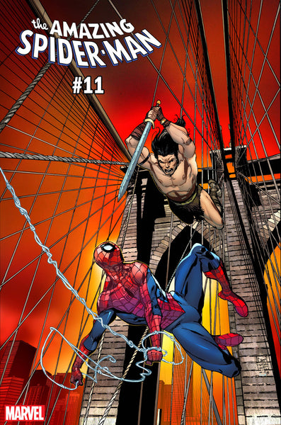 AMAZING SPIDER-MAN #11 CAMUNCOLI CONAN VS MARVEL VAR