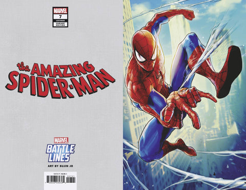 AMAZING SPIDER-MAN #7 SUJIN JO MARVEL BATTLE LINES VAR