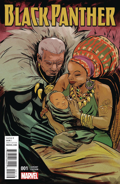 BLACK PANTHER VOL 6 #1 SANFORD GREENE CONNECTING A VARIANT