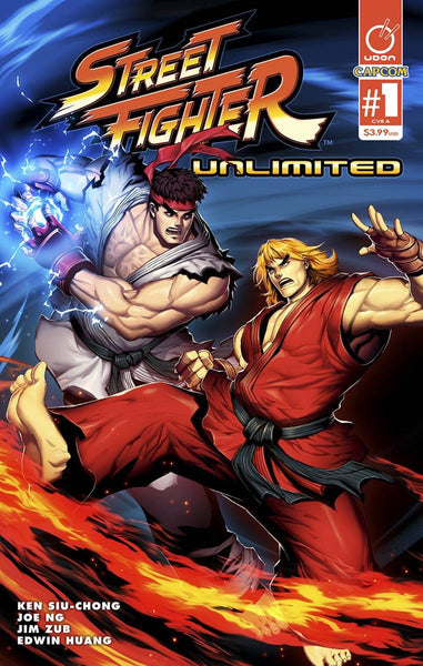 STREET FIGHTER UNLIMITED #1 CVR A GENZOMAN STORY