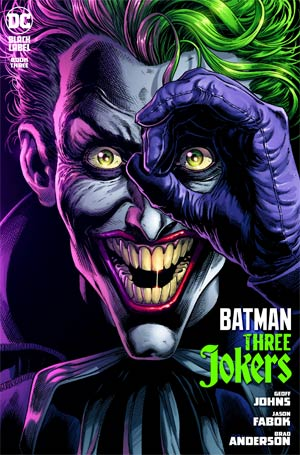 BATMAN THREE JOKERS #3 (OF 3) CVR A JASON FABOK JOKER