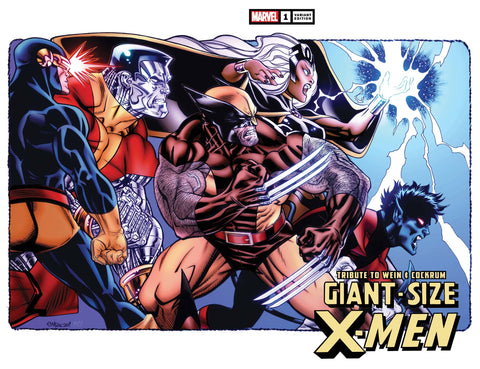 GIANT SIZE X-MEN TRIBUTE WEIN COCKRUM #1 WRPAD VAR