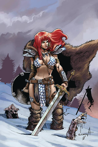 RED SONJA BIRTH OF SHE DEVIL #1 DAVILA VIRGIN INCV