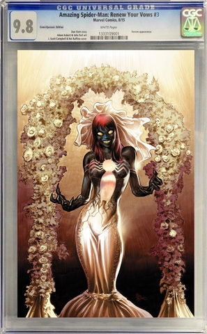AMAZING SPIDER-MAN RENEW YOUR VOWS #3 MIKE DEODATO CGC ( COLOR )