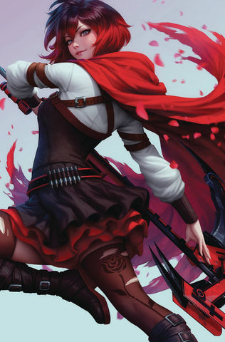 RWBY #2 (OF 7) ARTGERM CARD STOCK VAR ED