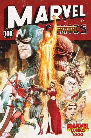 MARVEL COMICS #1000 ANDREWS DECADE VAR