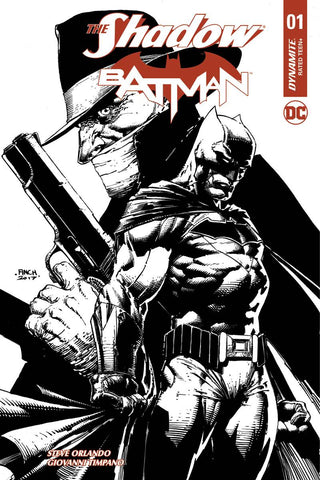 SHADOW BATMAN #1 CVR O 100 COPY FINCH INCV