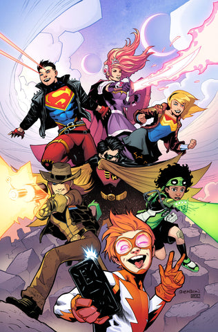 YOUNG JUSTICE #1 VAR ED