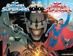 BATMAN SUPERMAN #1 CONNECTING SET