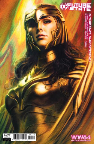 FUTURE STATE DARK DETECTIVE #1 (OF 4) CVR C ARTGERM WONDER WOMAN 1984 CARD STOCK VAR