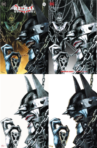 BATMAN WHO LAUGHS #1 (OF 6) UNKNOWN EXCLUSIVE MICO SUAYAN 4 PACK