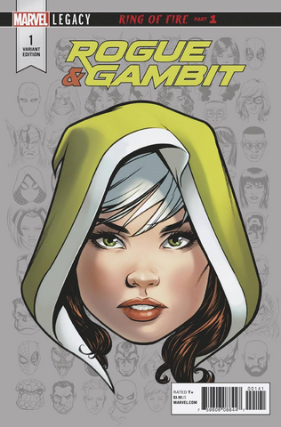 ROGUE & GAMBIT #1 (OF 5) MCKONE LEGACY HEADSHOT VAR LEG