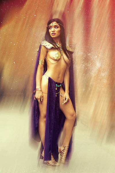 DEJAH THORIS (2019) #1 COSPLAY VIRGIN INCV