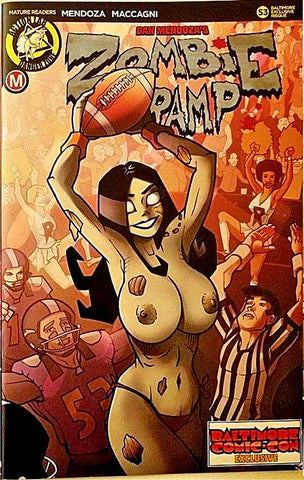 ZOMBIE TRAMP ONGOING #53 BALTIMORE COMIC CON RISQUE EXCLUSIVE