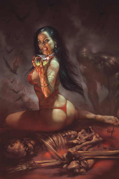 VENGEANCE OF VAMPIRELLA #1 LUCIO PARRILLO LTD VIRGIN CVR