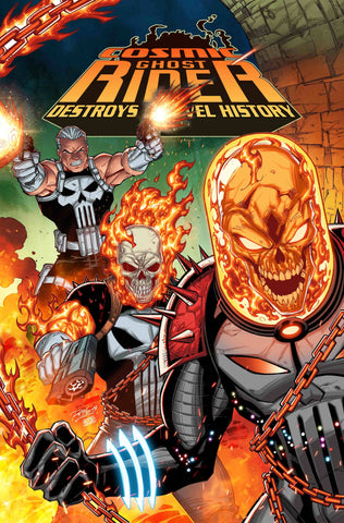 COSMIC GHOST RIDER DESTROYS MARVEL HISTORY #1 (OF 6) LIM VAR