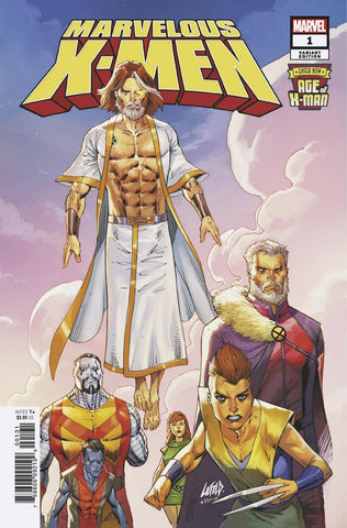 AGE OF X-MAN MARVELOUS X-MEN #1 (OF 5) LIEFELD VAR
