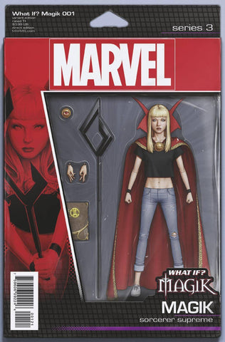 WHAT IF MAGIK? #1 CHRISTOPHER ACTION FIGURE VAR