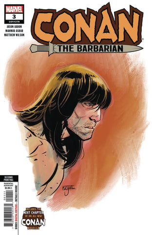 CONAN THE BARBARIAN #3 2ND PTG ASRAR VAR