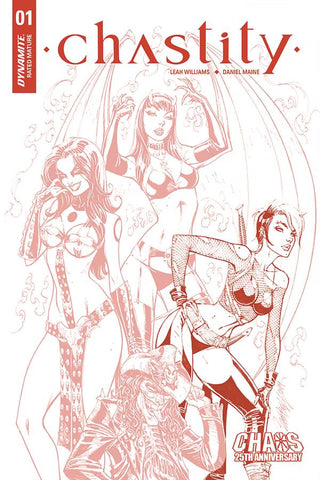 CHASTITY #1 J SCOTT CAMPBELL CARVE DRESSED TINT INCV
