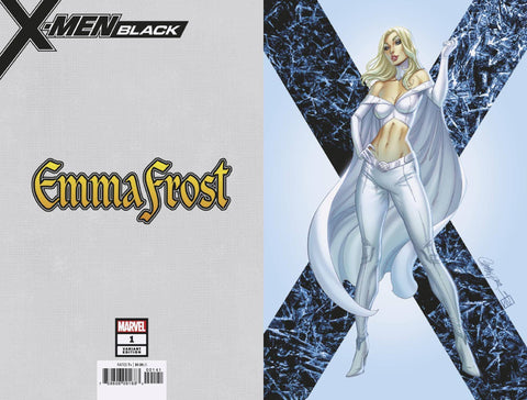 X-MEN BLACK EMMA FROST #1 JSC VIRGIN VAR