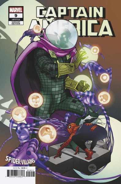 CAPTAIN AMERICA #9 FERRY SPIDER-MAN VILLAINS VAR