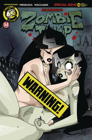 ZOMBIE TRAMP ONGOING #56 CVR F MENDOZA RISQUE B