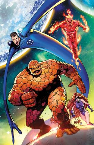 FANTASTIC FOUR #1 UNKNOWN VIRGIN LIEFIELD VAR