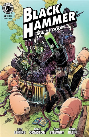 BLACK HAMMER AGE OF DOOM #1 CONVENTION EXCLUSIVE