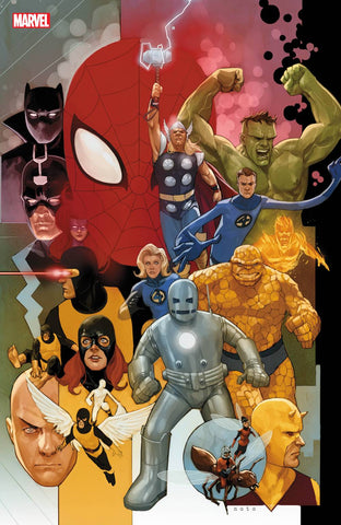 AVENGERS #12 NOTO MARVEL 80TH VAR