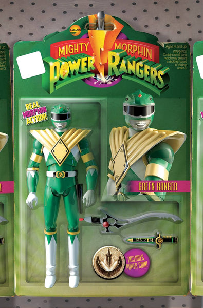 MIGHTY MORPHIN POWER RANGERS #1 ACTION FIGURE VAR