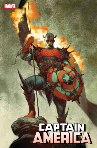 CAPTAIN AMERICA #26 TEDESCO KNULLIFIED VAR