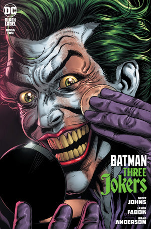 BATMAN THREE JOKERS #2 (OF 3) JASON FABOK MAKE UP JOKER
