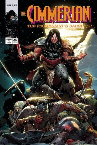 CIMMERIAN FROST GIANTS DAUGHTER #1 CVR E CASA (MR)