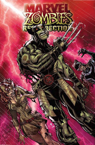 MARVEL ZOMBIES RESURRECTION #1 BRADSHAW VAR