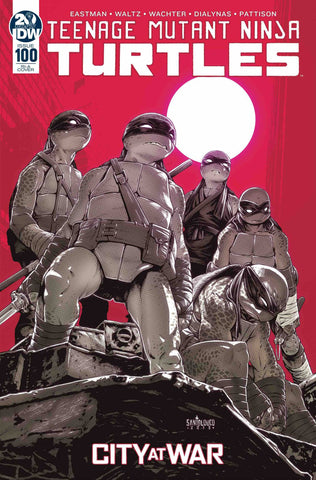 TMNT ONGOING #100 INCV SANTOLOUCO