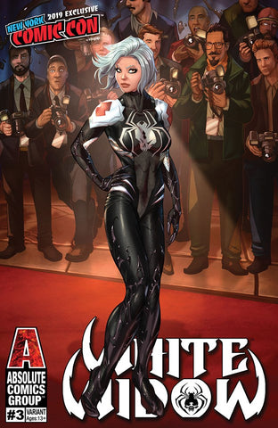 WHITE WIDOW #3 NYCC ALE GARZA EXCLUSIVE