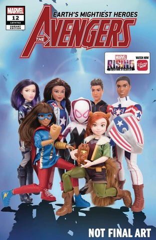 AVENGERS #12 MARVEL RISING ACTION DOLL HOMAGE VAR