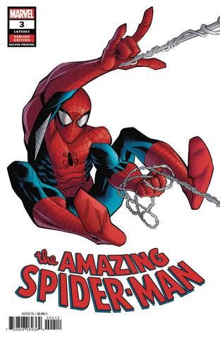 AMAZING SPIDER-MAN #3 2ND PTG OTTLEY