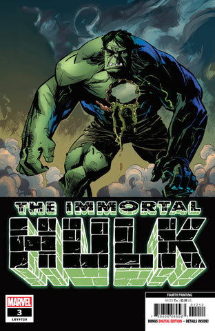 IMMORTAL HULK #3 4TH PTG BROWN VAR