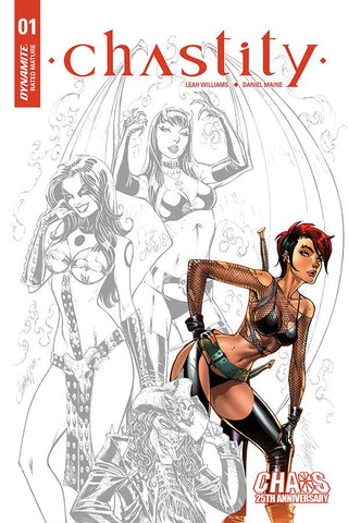 CHASTITY #1 J SCOTT CAMPBELL CARVE INCV (MR)
