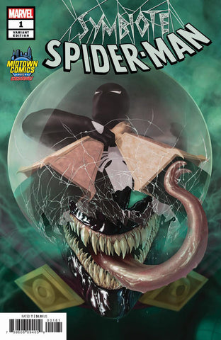 SYMBIOTE SPIDER-MAN #1 RAHZZAH EXCLUSIVE VAR