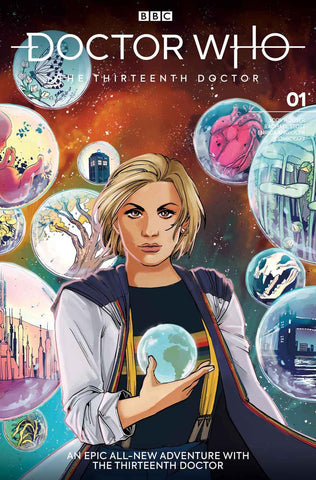 DOCTOR WHO 13TH #1 CVR E ANWAR