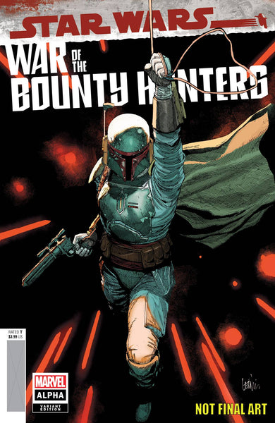 STAR WARS WAR BOUNTY HUNTERS ALPHA #1 YU VAR