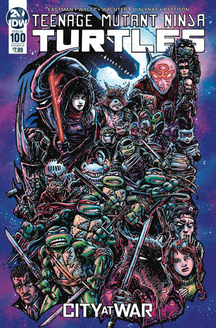 TMNT ONGOING #100 CVR B EASTMAN