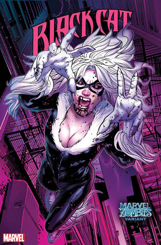 BLACK CAT #11 LAND MARVEL ZOMBIES VAR
