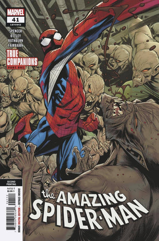 AMAZING SPIDER-MAN #41 2ND PTG VAR