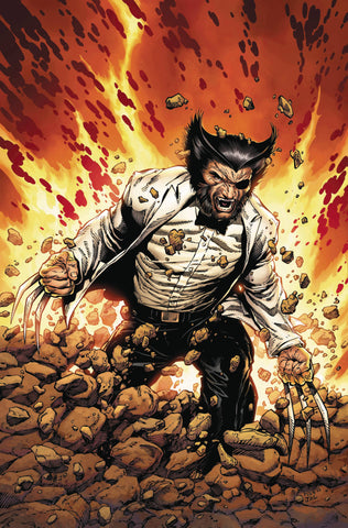 RETURN OF WOLVERINE #1 (OF 5) MCNIVEN PATCH COSTUME VAR