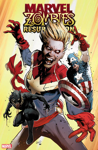 MARVEL ZOMBIES RESURRECTION #1 LAND VAR