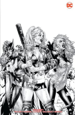 DCEASED #1 (OF 6)  JAY ANACLETO B&W EXCLUSIVE